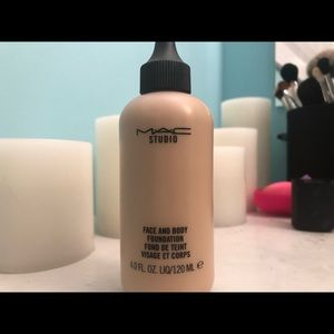 MAC face and body foundation C2 shade